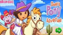 Мультик игра для детей Даша Путешественница Ковбой