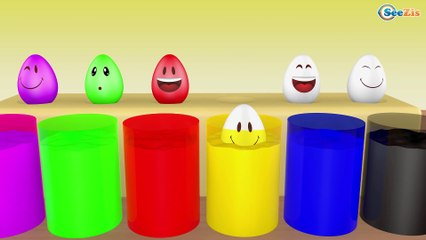 Learn Colors with Surprise Eggs 3D for Children, Toddlers - Learn Colours&Numbers For Kids
