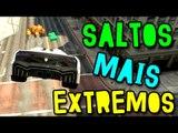 GTA V ONLINE - SALTOS GIGANTES E EXTREMOS!! (c/ Lugin)