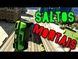 GTA V ONLINE - SUPER SALTOS MORTAIS!! BACKFLIPS!!