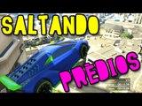 GTA V ONLINE - SALTANDO PRÉDIOS QUE NEM DOIDO!!