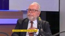 """Révision constitutionnelle : Wallerand de Saint-Just, du Front national, estime que le gouvernement souhaite """"restreindre assez considérablement le droit d'amendements. Ça n'est pas bon pour la démocratie"""" #TEP"""