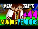 Mundos Perdidos - ESTAMOS DE VOLTA! DIAMOND DRILL!! - #44 - SkyGrid c/ Mods Minecraft