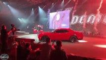First Look! 840 hp 2018 Dodge Challenger SRT Demon Unveiled!