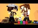 Minecraft : HARDCORE DOS BEBÊS ( Baby Fight) #3 - BEBÊ KAZZIO vs BEBÊ PEDRO ! QUEM GANHA ?!
