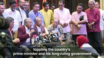 Mahathir Mohamad poised to become Malaysian prime minister