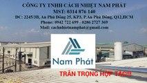 Vách ngăn cách âm cách nhiệt - Giá vách ngăn cách âm cty Nam Phát