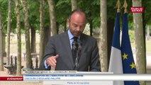 « La connaissance de ce chemin long vers l'abolition est la plus sûre allié de la reconnaissance » affirme Edouard Philippe