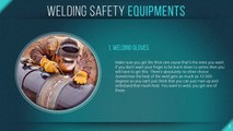Different types of welding tools and equipment