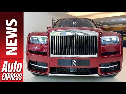 New Rolls-Royce Cullinan - luxury British brand reveals SUV contender