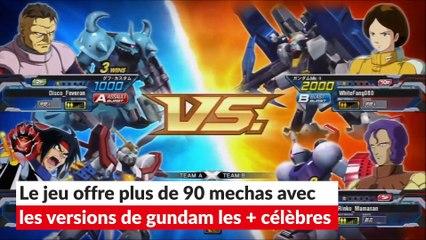 Gundam Extreme Vs. Full Boost : adaptation jeu manga