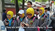 It's a dream come true! A group of Afghan girls have visited Shaolin Temple, the cradle of the Chinese martial arts in central Henan Province, as they fight to