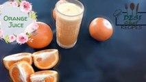FRESH ORANGE JUICE .. HOW TO MAKE FRESH ORANGE JUICE