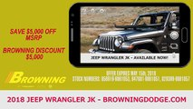 2018 Jeep Wrangler JK Rancho Cucamonga CA | Jeep Wrangler JK Dealer Norco CA