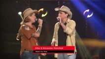 Lady Antebellum - Need You Now _ Silke & Alexander Mohnfeld _ The Voice of Germany _ Blind Audition