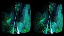 VR Roller Coaster 3D VR Video 3D SBS for Google Cardboard VR BOX 3D not 360 VR