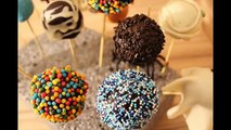 Cake pops nutella without baking (how to)Nutella Cake Pops ohne Backen selber machen Anleitung