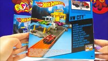 Hot Wheels City Pit Stop Station & Hot Wheels City Police Pursuit Playset For Kids Worldwide