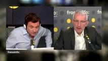 """Grève à la SNCF : """"Je ne pense pas que les cheminots aient la tentation de perturber les vacances des Français. Les Français nous en voudraient très longtemps (...) Les cheminots sont des gens responsables"""", Guillaume Pepy sur #franceinfo"""