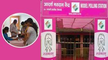 Karnataka Election: Pink Booths installed to woo women voters   OneIndia News