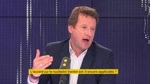 """""""Soit l'Europe pèse, devient un lieu de diplomatie, de géopolitique, de puissance politique (...) soit nous allons disparaître"""", Yannick Jadot, eurodéputé Europe Écologie-Les Verts"""