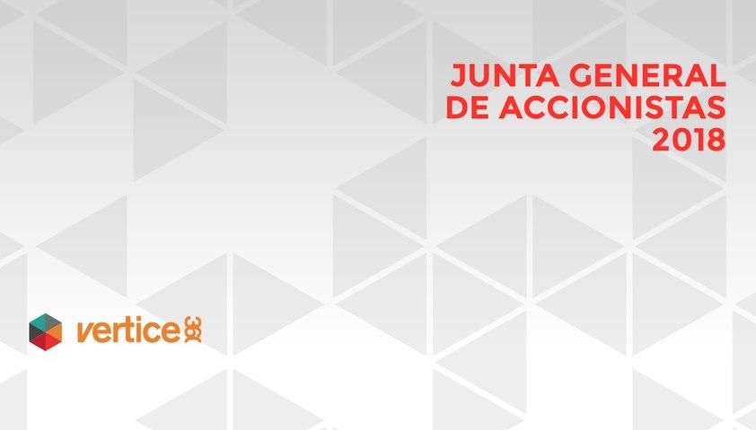 Vértice 360 Junta General de Accionistas