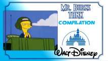 MR. BURNS TANK : Walt Disney Compilation (VF)