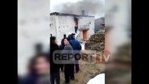 Report TV - Digjet shtëpia në Mat, nuk ka të lënduar, familjarët në qiell të hapur