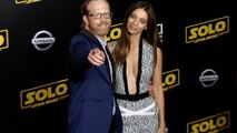"Ptolemy Slocum and Angela Sarafyan ""Solo: A Star Wars Story"" World Premiere Red Carpet"