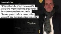"""Tanguy Pastureau :""""L'adoption du chien Nemo a été  un grand moment de la présidence. Le moment où Macron se dit : 'Je vais quand même ressembler  un petit peu aux anciens présidents'"""""""
