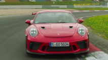 Porsche 911 GT3 RS in Guards Red Driving Video