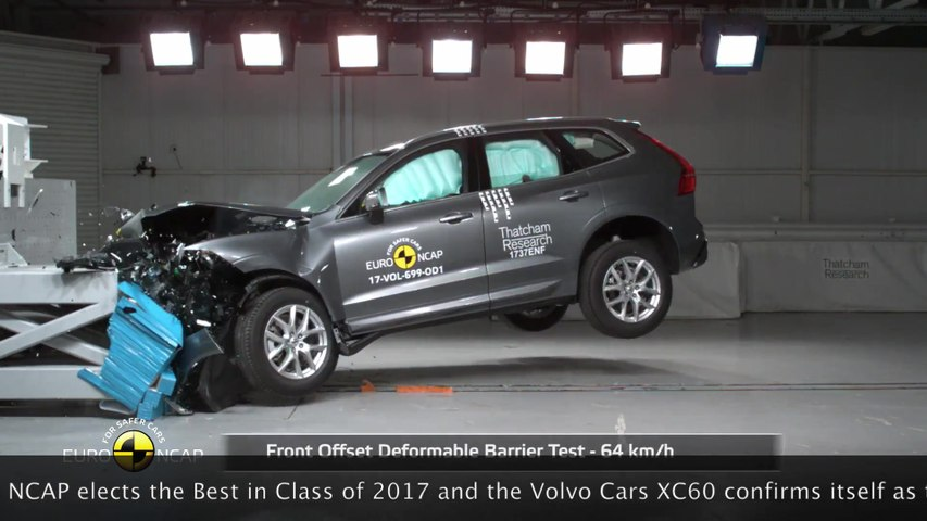 The Volvo XC60 is the safest car of 2017 according to Euro NCAP tests
