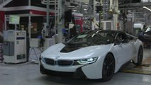 Final assembly BMW i8 Coupe and BMW i8 Roadster at BMW Group Plant Leipzig