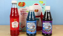 Jelly Belly Electric Snow Cone Machine - DIY Make Your Own Snow Cones