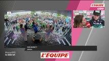 S. Bennett «Mon rêve devient réalité» - Cyclisme - Giro - 7e étape