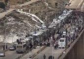 Third Rebel Convoy Prepares to Leave North Homs
