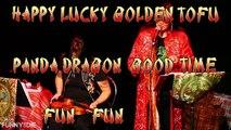Kate Rigg trailer for Happy Lucky Golden Tofu Panda Dragon Good Time Fun Fun Show