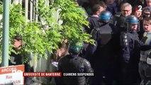 Université de Nanterre : des examens suspendus après un blocage