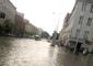 Heavy Rain, Hail and Flooding Inundate Gdansk City Center