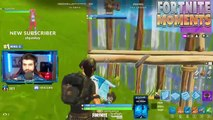 NINJA TROLLS THANOS USING NEW OP SKY BASE *HILARIOUS* Trolling In Fortnite Battle Royale Compilaiton