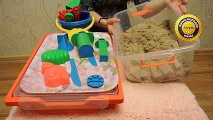 Кинетический песок - видеообзор и впечатления. Отзыв на кинетический песок