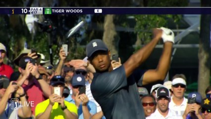 Tiger Woods Barely Makes the Cut at THE PLAYERS