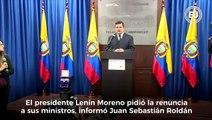 #AlDíaen60Segundos  El presidente Lenín Moreno pidió la renuncia de sus ministros; los detalles de esta y otras informaciones del día en ►