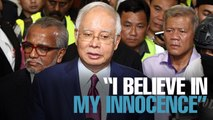NEWS: Najib maintains innocence