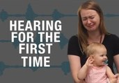 Deaf People Hearing For the First Time