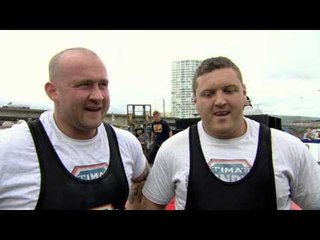UKs Strongest Man 2013 SHOW 3 The Power Stairs