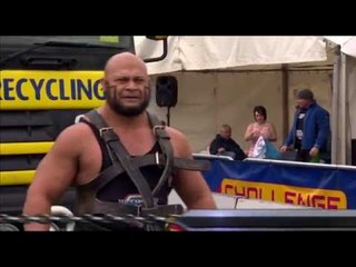 Ultimate Strongman Masters 2012 - Double Truck Pull