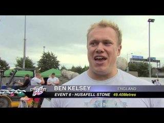 UKs Strongest Man 2013 Husafell Stone