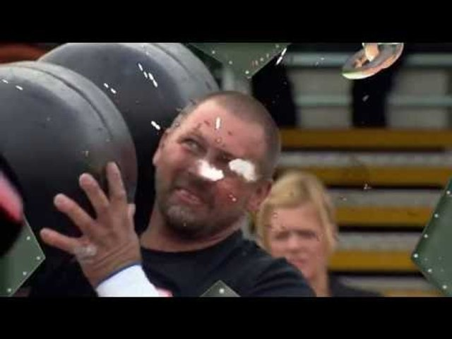 Ultimate Strongman Masters 2013 The Daddy Dumbell