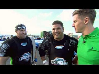 Ultimate Strongman Masters 2013 Show 1 - The Car Flip